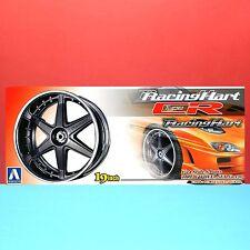 Aoshima 1/24 19 inch Racing Hart Type CR wheel & tire model kit set #010044