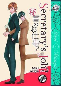 Secretary's Job by Miki Araya, Yaoi Manga/Graphic Novel in English! NEW