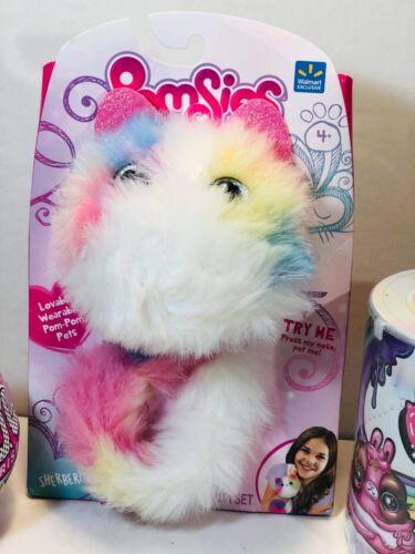 Pomsies Sherbert 3 New Toys Poopsie Unicorn Slime /& Lol Surprise Glam Glitter