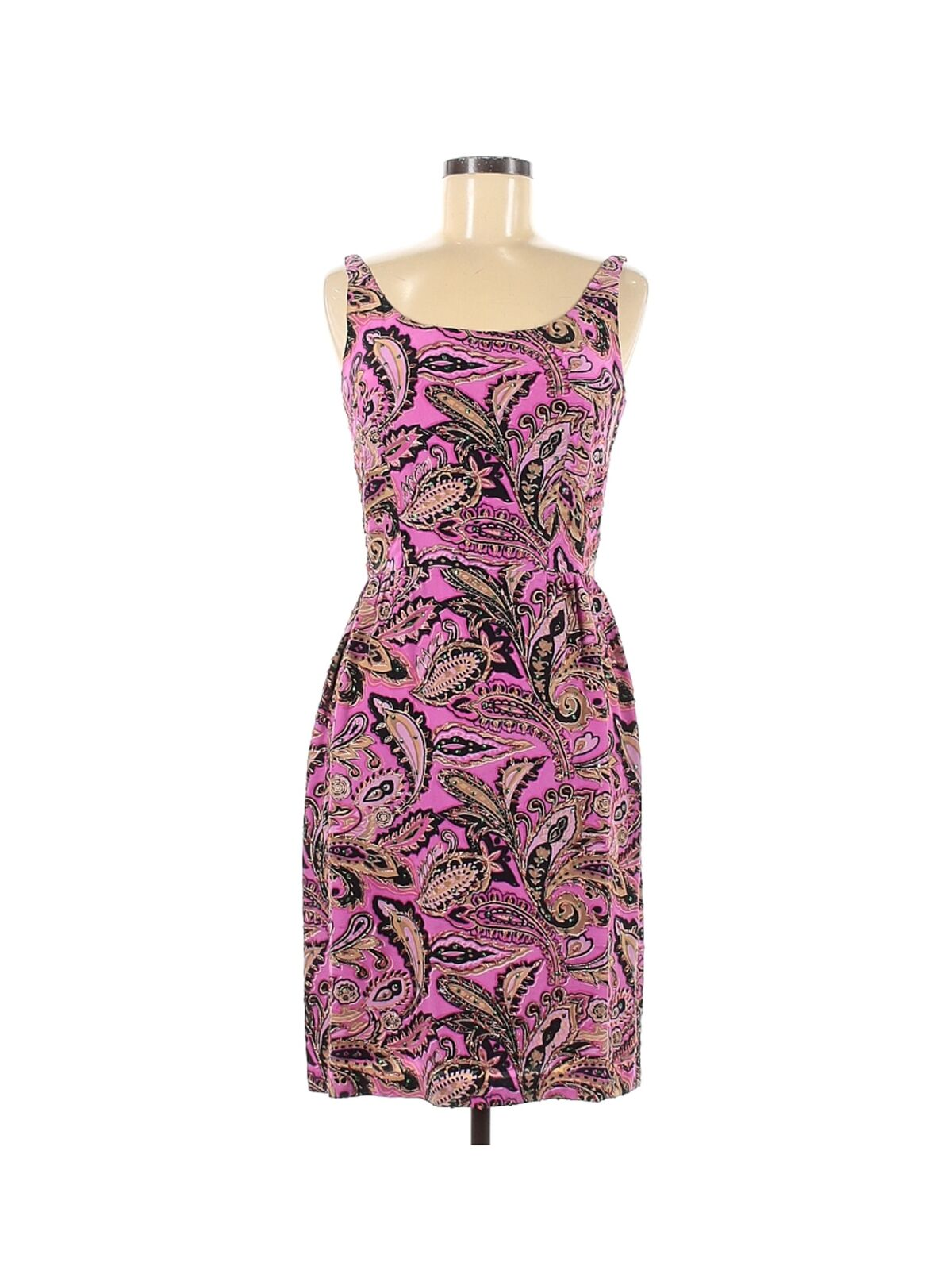 Anna Sui Women Pink Casual Dress 6 - image 1