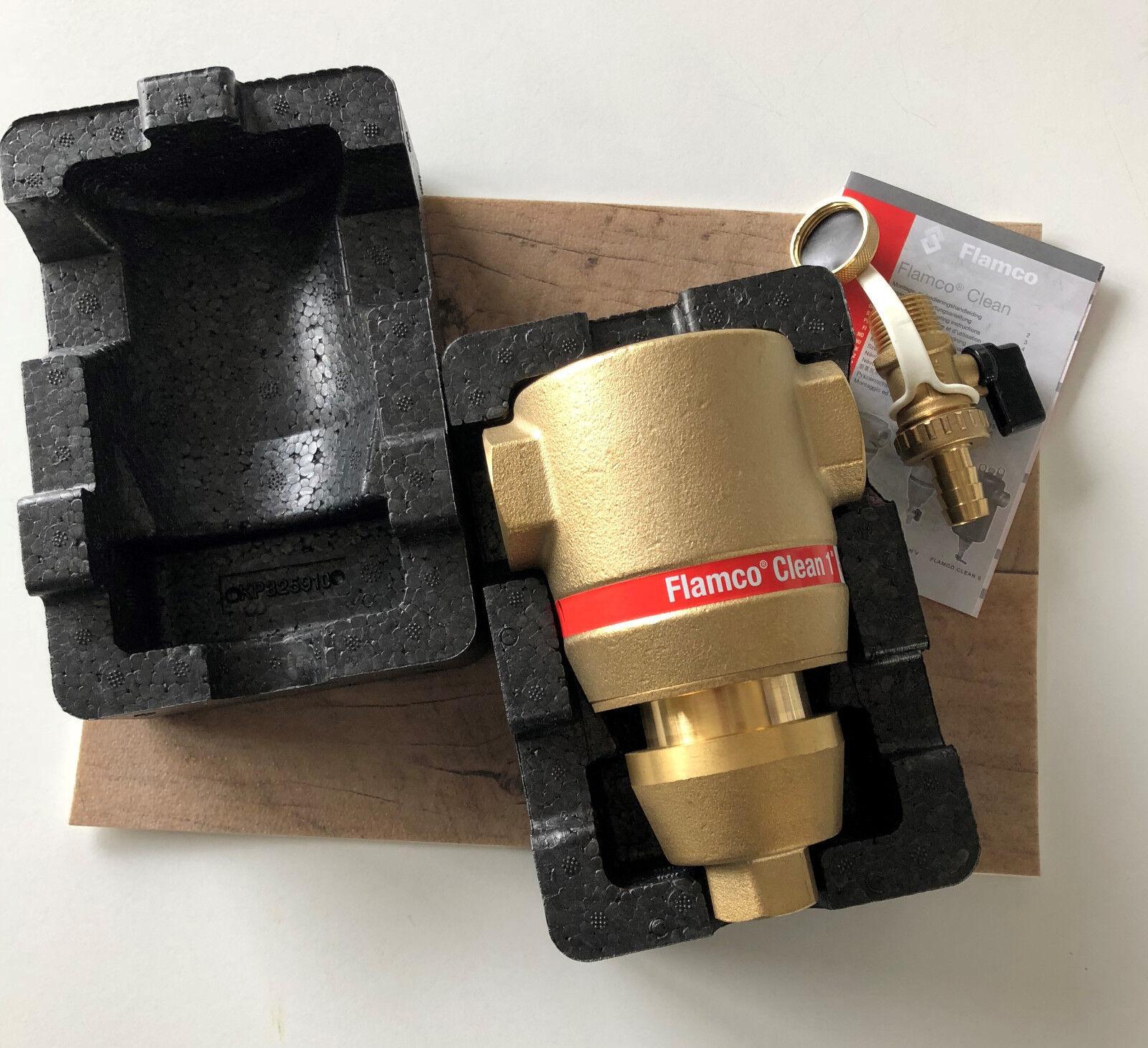 Flamco Clean Schlammabscheider mit EPP-Wärmeschutzisolierung DN 25 1   IG