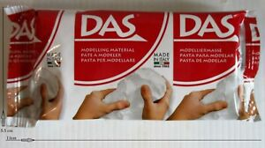 DAS-Air-Drying-Modelling-Clay-White-150-gram-Foil-Pack-UK-2nd-Class-Post