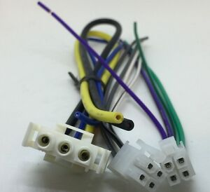 s l300 alpine 3527 3 pin power harness 2) front and rear 4 pin speaker alpine 3527 wiring harness at bakdesigns.co