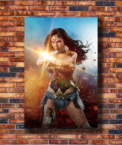 T2463 20x30 24x36 Silk Poster Wonder Woman Gal Gadot 2017 Art Print