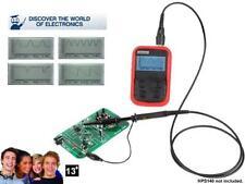 KIT ELECTRONIQUE EDUCATIF EXPERIENCE POUR OSCILLOSCOPE NUMERIQUE