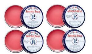 Rosebud Salve Four Pack / 4 x 0.8 oz tins Original Salve *NEW*