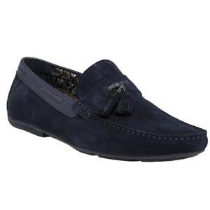 New Mens SOLE Blue Gaskin Suede Shoes Driving Slip On - London, United Kingdom - New Mens SOLE Blue Gaskin Suede Shoes Driving Slip On - London, United Kingdom