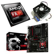 AMD FX 8350 Eight Core 4.20GHz MSI 970 Gaming Motherboard Bundle