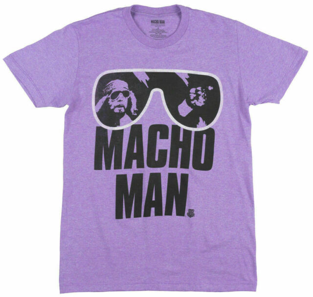 Macho Man Randy Savage Madness Violett Tank Top Shirt