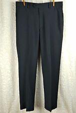 Covington Dress Pants Dark Gray Flat Front Men's Size 34x32 Inventory: F-0039
