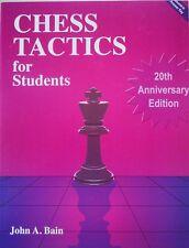Chess Tactics for Students by John Aloysius Bain (1994, Paperback)