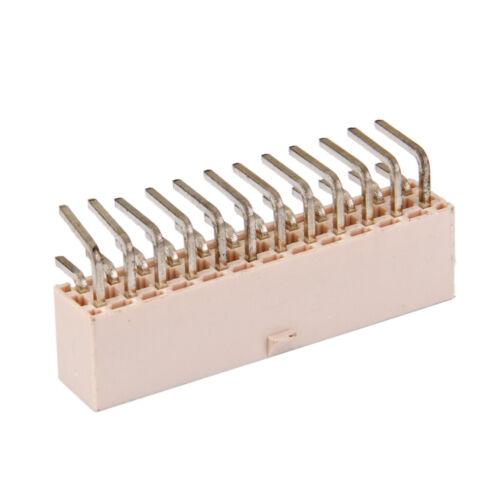 24 pin 24 polig Stromversorgung Platine Loeten Atx L Winkelsteckverbinder