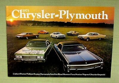 vintage original 1973 chrysler plymouth brochure mancini motors sunnyvale ca ebay ebay