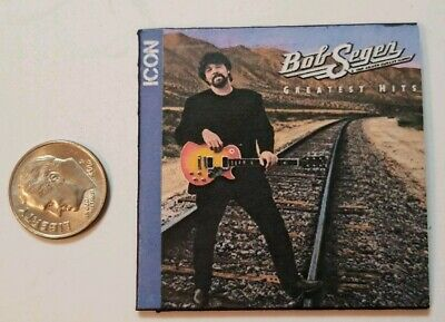 "Miniature record album Barbie 2/"" 1//6 Playscale Album  Bob Seger Live Bullet"