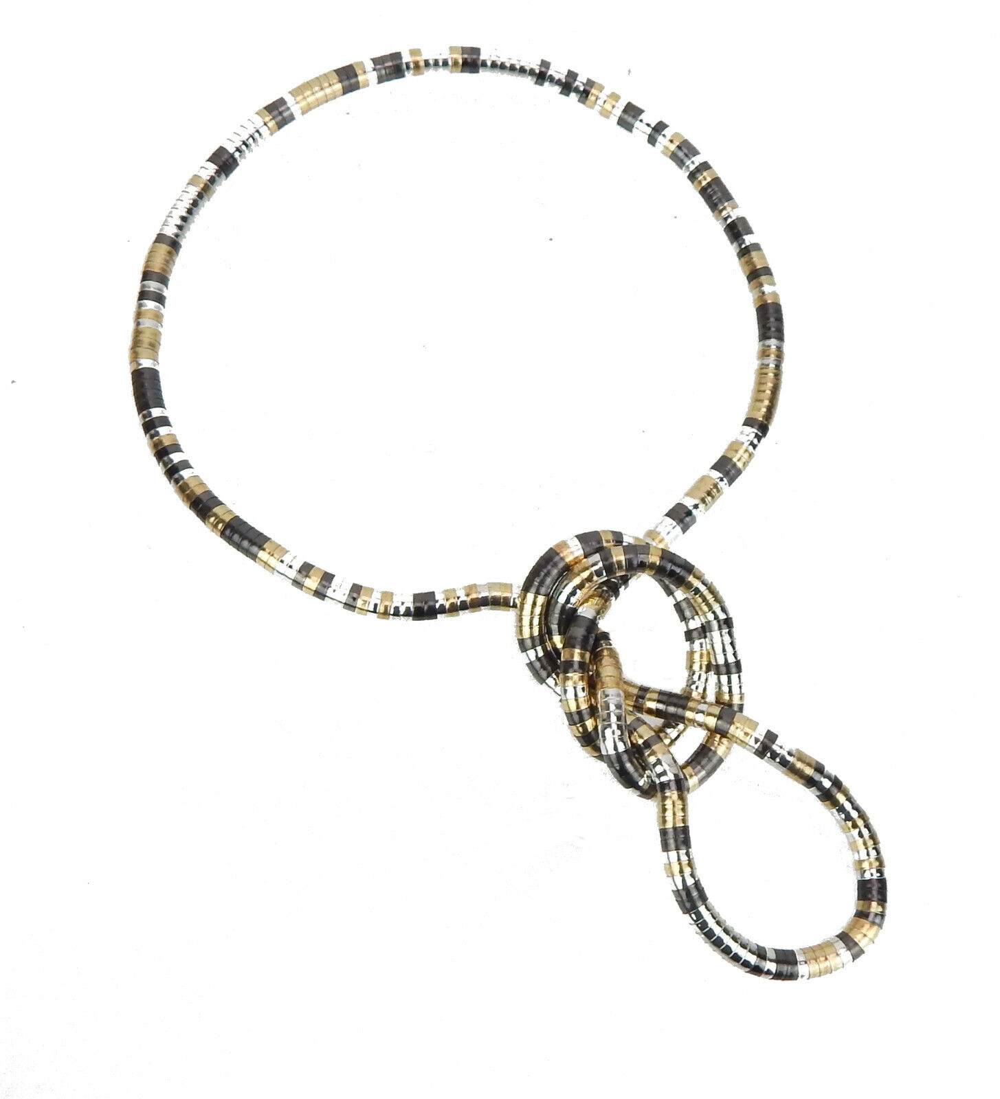 necklace silver necklace Choker by Ella Jonte newcomer necklace Statement chain