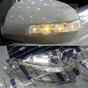 oem parts side mirror led repeater signal lamp for hyundai. Black Bedroom Furniture Sets. Home Design Ideas