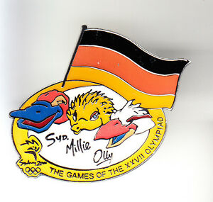 RARE-BIG-PINS-PIN-039-S-OLYMPIQUE-OLYMPIC-SYDNEY-2000-GERMANY-TEAM-13