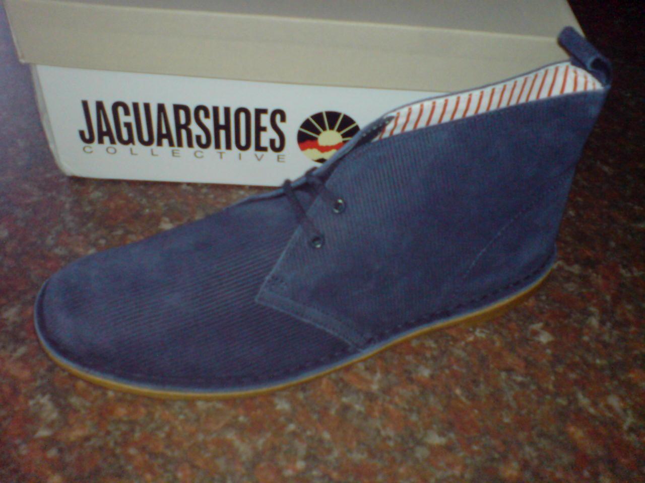 Nuevo Clarks Originals Botas Safari x Jaguar Cuero Azul F Marino UK 12 F Azul e27736