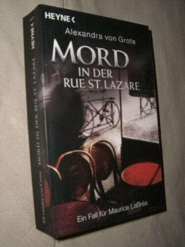 1 von 1 - Alexandra von Grote: Mord in der Rue St. Lazare
