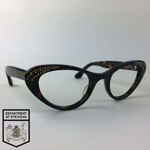 284123661efe9 Image is loading ISAAC-MIZRAHI-eyeglasses-TORTOISE-CATS-EYE-glasses-frame-