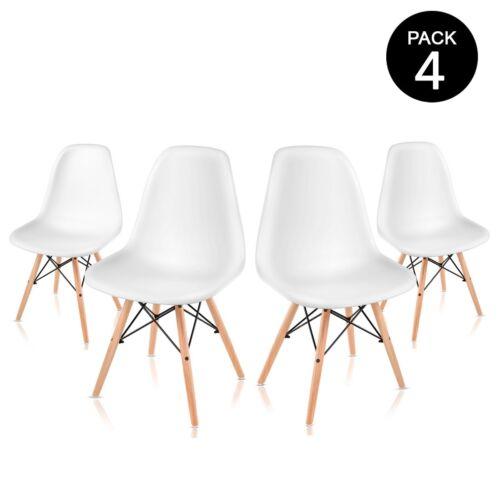 Pack 4 sillas de comedor