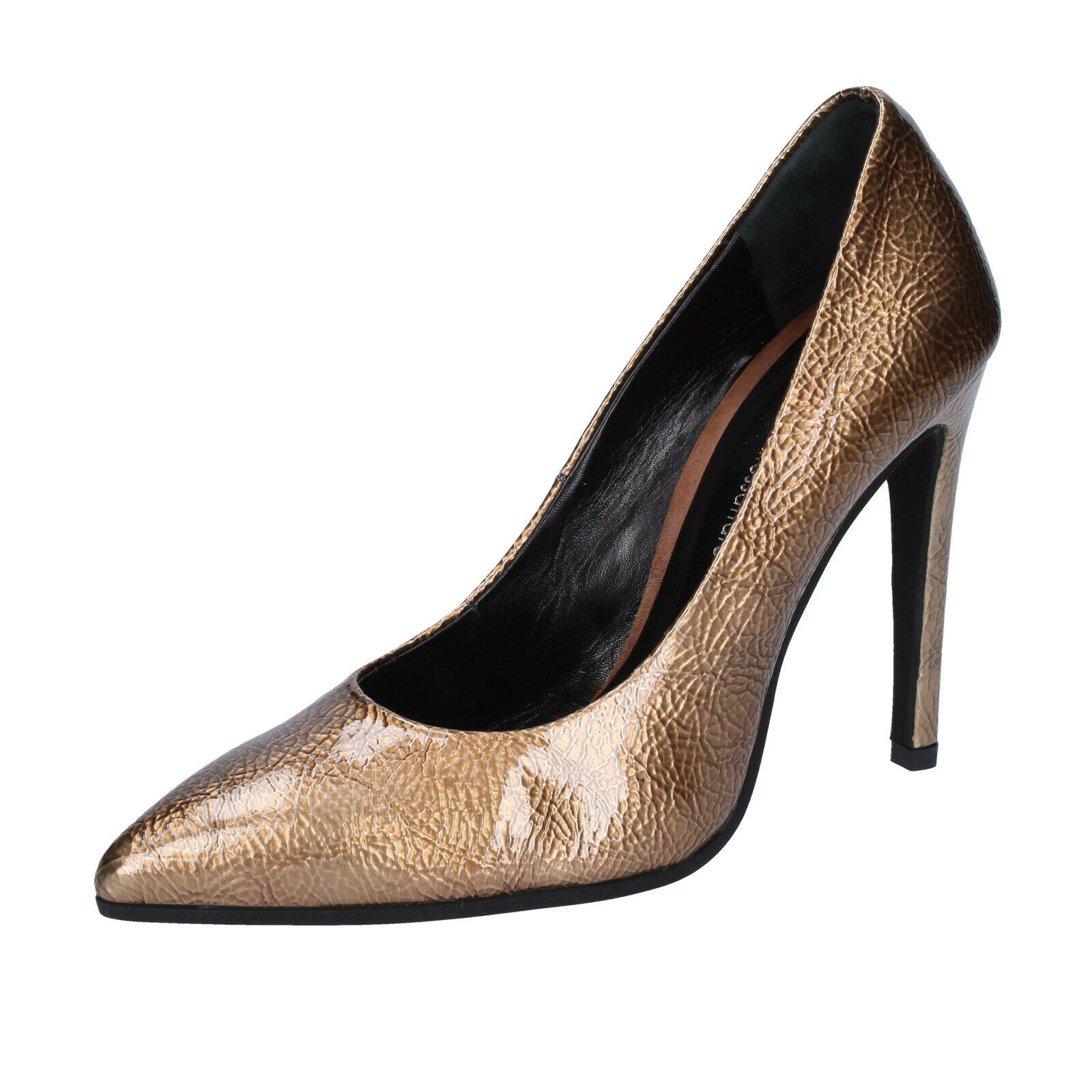 Womens shoes Armando D'Alessandro 36 EU Pumps Bronze Paint BS971-36
