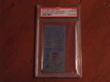 Sept 15, 1991 Cin vs Houston Game #2 Hit #4 Lofton Stub PSA Certified