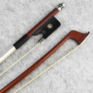 NEW-4-4-Size-Advanced-Pernambuco-Cello-Bow-Natural-Horsehair-Ebony-Frog