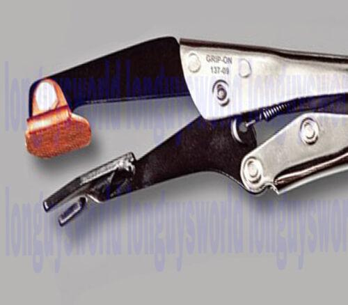 Copper Alloy Backing Plate Plugweld Clamp Plier U-Shaped Jar Welder Welding Tool