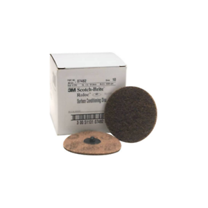07482 TR 4 in x NH A CRS Box Scotch-Brite™ Roloc™ Surface Conditioning Disc