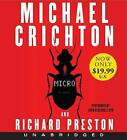 Micro by Michael Crichton (CD-Audio, 2012)