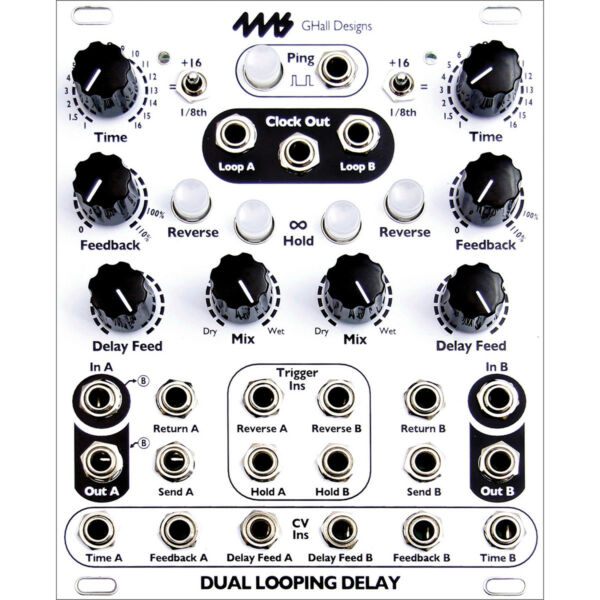 4ms Dual Looping Delay Eurorack Module (dld) Wees Vriendelijk In Gebruik