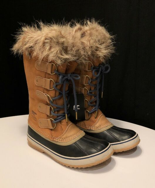 81160992f92a NEW SOREL Joan Of Arctic Boot Women s 10.5 Elk Dark Mountain Waterproof  MSRP 190
