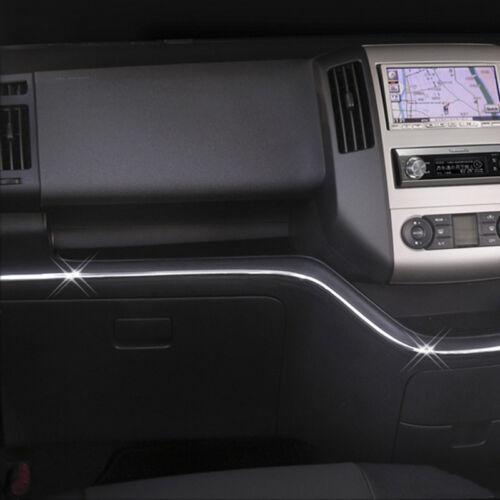 Chrome 6mm Interior Decorative Strip Trim Glove Box Cover Car Styling 6 Meters