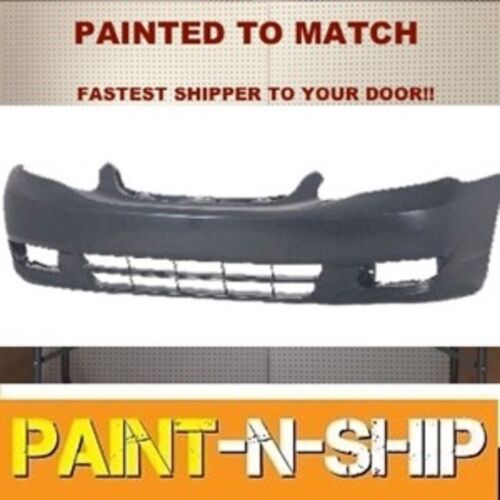 Fits; 2003 2004Toyota Corolla Front Bumper Painted to Match TO1000240