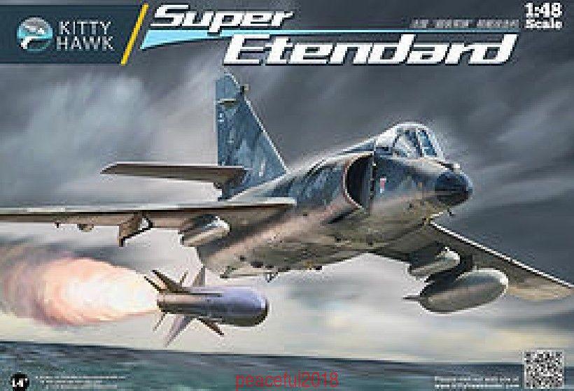 Kitty Hawk 80138 1 48 Super Etendard  Assembly model NEW