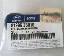 New Hyundai Veracruz 07-08 Genuine OEM immobilizer Key Blank Uncut 819962B010