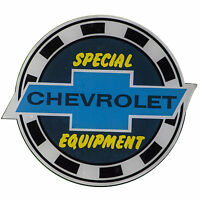 Chevy Chevrolet Special Equipment Parts Window Decal Sticker Chevelle Camaro Ss