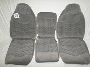 1999 F 250 Oem Seat Cover Take Off