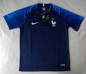 Maillot de foot équipe de France 2 étoiles Taille M-L Neuf avec emballage !