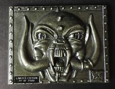 Motorhead Metal Orgasmatron  #97 of 2500 2 pounds castle communications lemmy