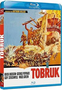 TOBRUK-1967-Blu-Ray-B-Rock-Hudson-George-Peppard
