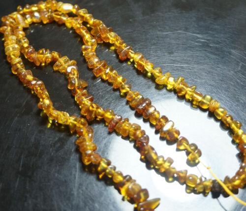 100/% NATURAL del Báltico ámbar amarillo oro suelta granos de piedras preciosas