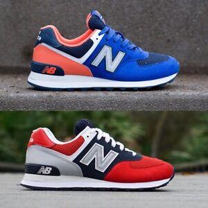 best service ba437 b5949 Details about New Balance 574 Pebbled Sport Sneakers Men's Lifestyle Comfy  Shoes