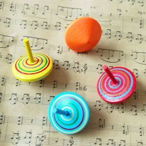 18-Pcs-Wooden-Colorful-Spinning-Top-Safe-Non-toxic-Wood-Toy-For-Kids-Children
