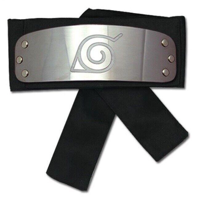 Naruto Shippuden ANTI SAND VILLAGE Black Ninja Cosplay headband Present