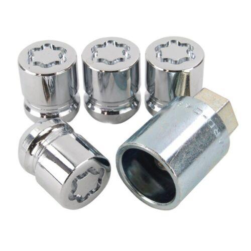 SU Standard Locking Wheel Nuts Set 4 Pieces Key M12x1.5 29.9mm McGard 25000SU