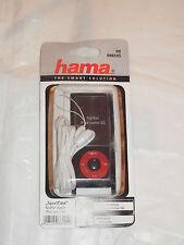 """00086145 caso Hama """"Sport"""" MP3 Funda para Ipod Nano 5G, negro + Correa + Lámina"""
