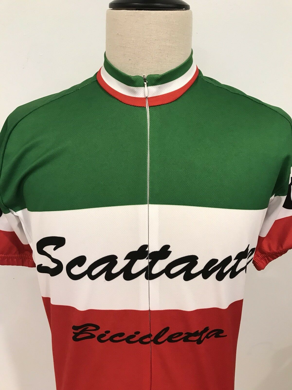 Scattante Mens Italian   Bike Bicycle Cycling Jersey Shirt Size XL  hot sales
