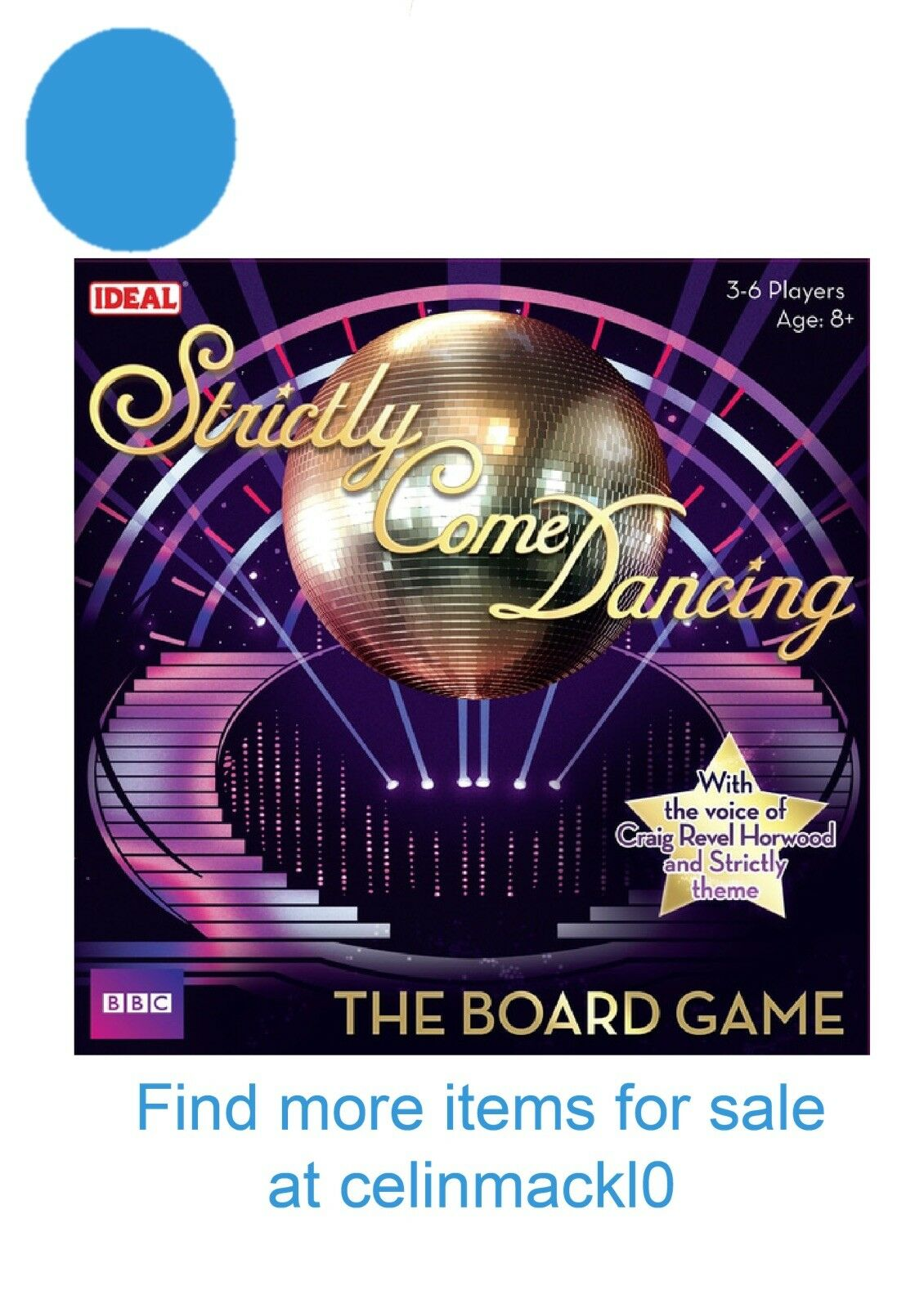 Strictly Come Dancing The Official Board Game - BBC Ideal Games 10566 BRAND NEW